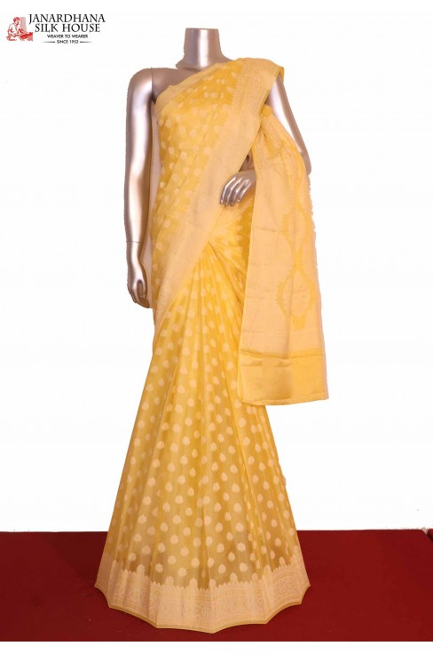 Exclusive Pure Crepe Silk Sare..