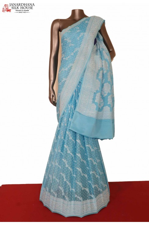 Exclusive Crepe Silk Saree..