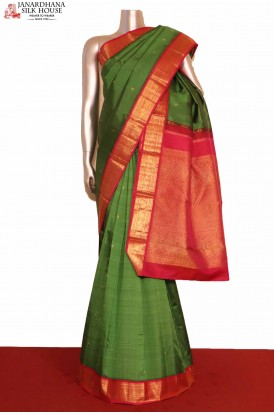 Bridal Kanchipuram Silk Saree