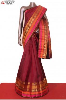 Gorgeous Thread Weave Kanjeevaram Silk Saree