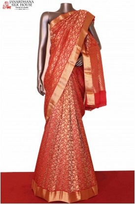 Exclusive Pure Crepe Silk Saree