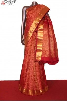 Birdal Kanchipuram Silk Saree..
