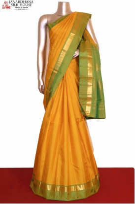 Traditional Kanjeevaram Silk Saree