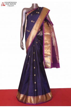 Traditional Peacock Kanjivaram Silk saree