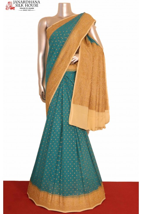 Banarasi Georgette Silk Saree..