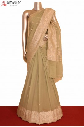 Designer Georgette Silk Saree