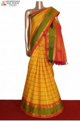 Veldhari Kanjivaram Silk Saree