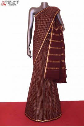 Pure Georgette Silk Saree