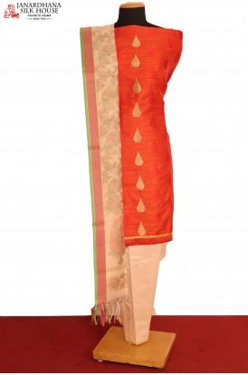 Designer Pure Cotton Suit
