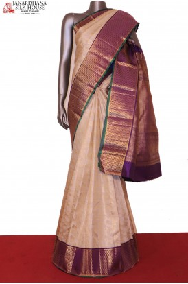 Contemporary Bridal Kanchipuram Silk Saree