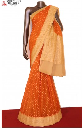 Designer Banarasi Georgette Silk Saree