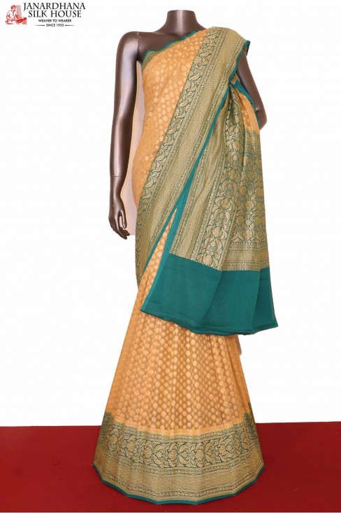 Wedding Banarasi Georgette Silk Saree