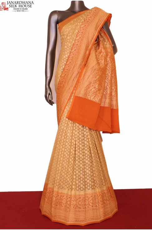 Exclusive Banarasi Georgette S..