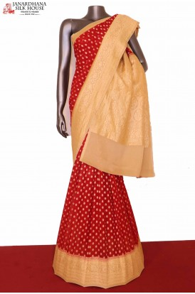 Exclusive Banarasi Georgette Silk Saree