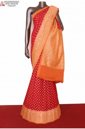 Exclusive Banarasi Georgette Silk Saree