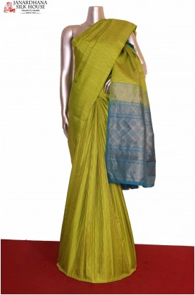 Gold & Silver KanjivaramSilk saree