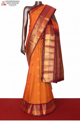 Bridal Kanjivaram Silk Saree