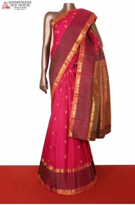 Mayil Chakram Kanjivaram Silk Saree