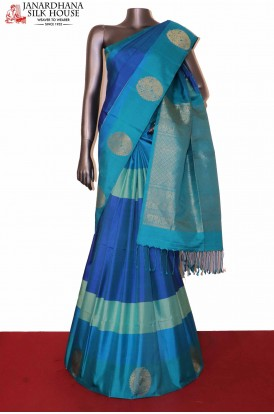 Designer Peacock Soft Silk Saree