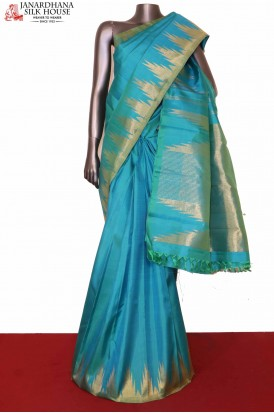 Temple Kanjivaram Silk Saree