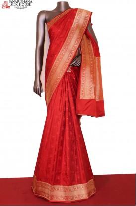 Exclusive Satin Tanchoi Silk Saree