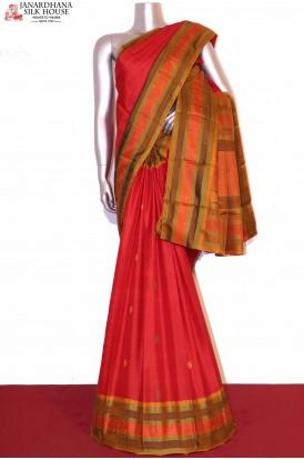 Thread Weave Kanjivaram Silk Saree