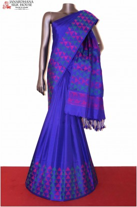 Thread Weave Soft Silk Saree