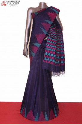 Temple Soft Silk Saree