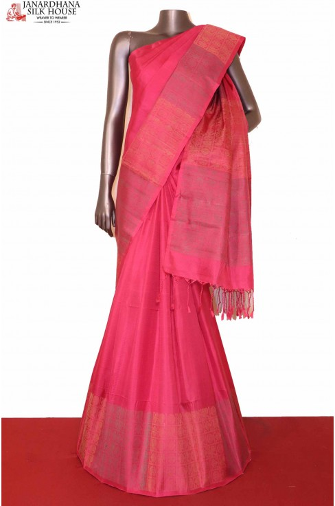 Handloom Soft Silk Saree