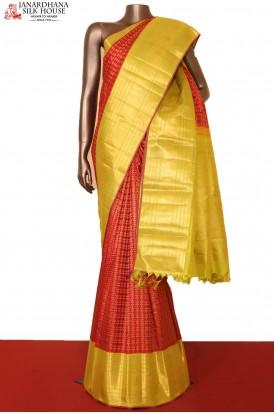 Designer Bridal Kanjeevaram Silk Saree