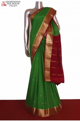 Exclusive Mysore Crepe Silk Saree