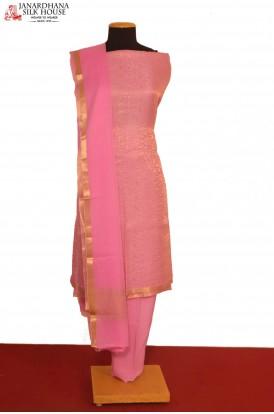 Designer Crepe Silk Suit..