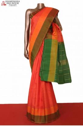 Traditional Kanjeevaram Silk Saree