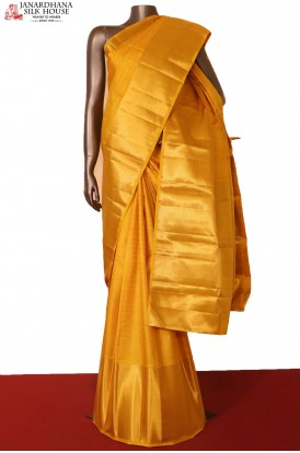 Grand Bridal Kanjeevaram Silk Saree