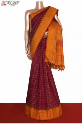 Thread Weave Kanjeevaram Silk Saree