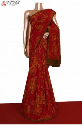 Exclusive Crepe Silk Saree