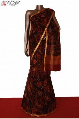 Exclusive Silk Chiffon Saree
