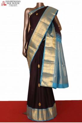 Exclusive Contrast Kanjeevaram Silk Saree