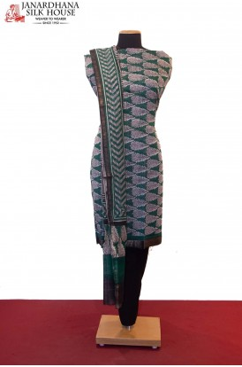 Printed Pure Cotton Suit