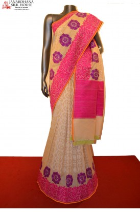 Exquisite Thread Weave Grand Banarasi Silk Saree