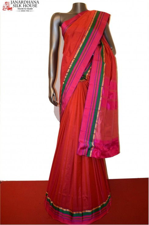 Special Satin Finish Pure Banarasi Silk Saree