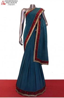 Exclusive Prints Pure Crepe Silk Saree