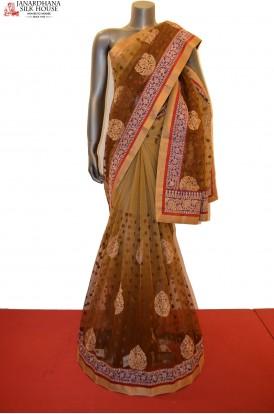 SSJF00425-Designer Party Wear Net Saree