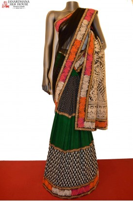 SSJG00553-Designer Party Wear Net Saree