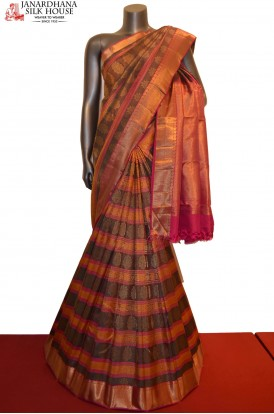 Exquisite Designer Grand Kanjeevaram Silk Saree