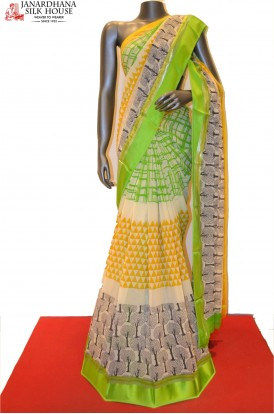 Designer Pure Georgette Silk Saree