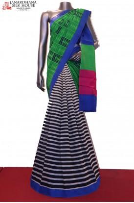 SSJG03469-Party Wear Patli Pure Linen Saree