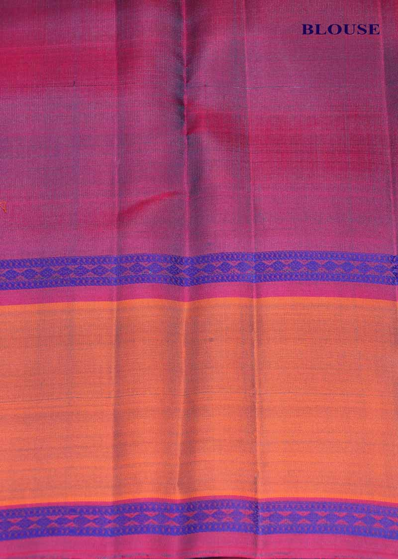 Thread Weave Kanjivaram Silk Saree